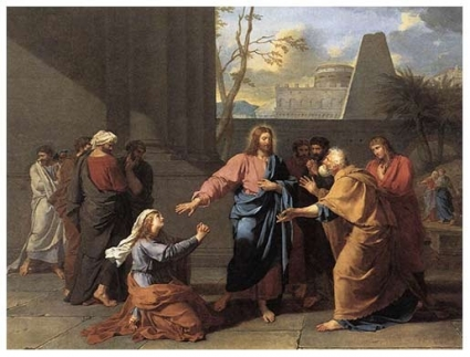 هل شتم المسيح المرأه الكنعانية ودعاها بالكلبة؟ ( مت 15 : 26 )