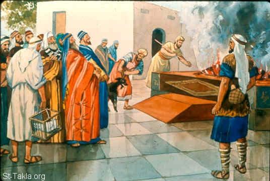 دراسة في الذبائح والتقدمات في الكتاب المقدس (الجزء 1) أصل وطبيعة الذبيحة ونظرية تقدمها.