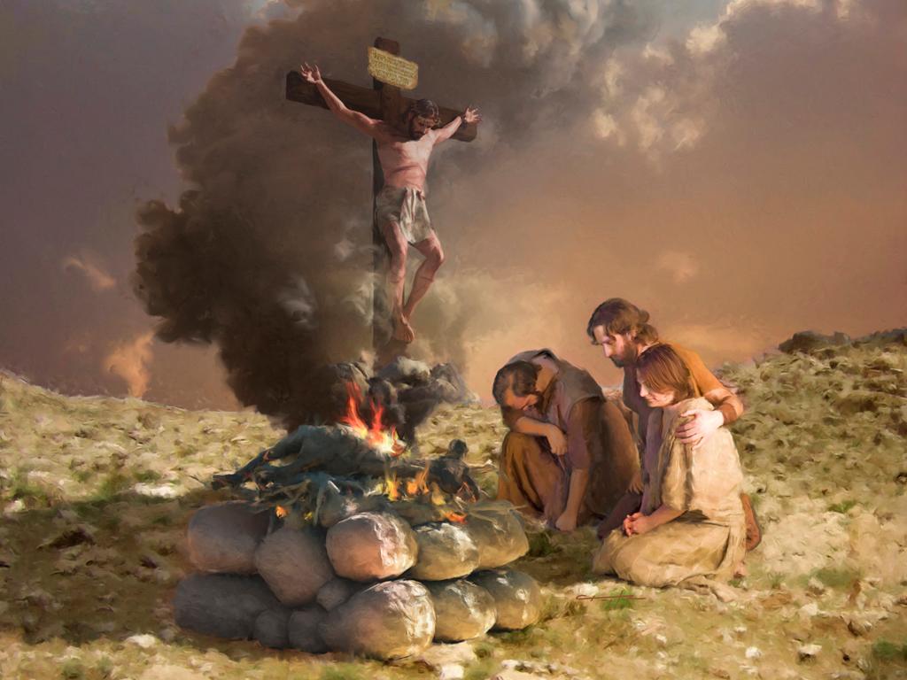 تابع دراسة في الذبائح (9) يسوع يقدم نفسه ذبيحة.