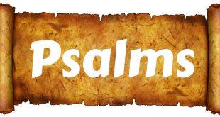 دراسة في سفر المزامير תהלים - ψαλμός الجزء (2) عناوين المزامير