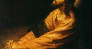 اذا كان المسيح إلهاً، فلماذا كان يصلي؟ صلاة المسيح. لماذا؟ في تعليم اباء الكنيسة
