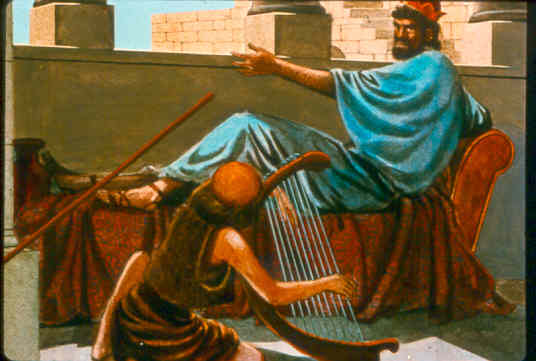متى وكيف تعرّف شاول على داود؟! رداً على أحمد سبيع!