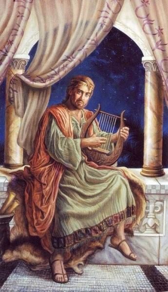 الرد على شبهة : هل اكل داود خبز التقدمه بمفرده ام مع رجاله ؟