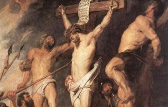 الرد على شبهة أي اللصين كان يعير المسيح اثناء صلبه؟
