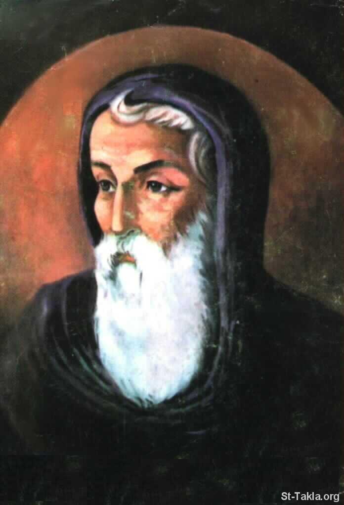 مقالة القديس اثناسيوس علي موسي النبي