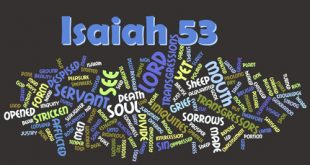 Several key words in Isaiah 53 speak of a servant in the plural.