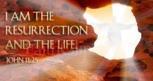 قيامة المسيا لإجلنا في فكر الاباء