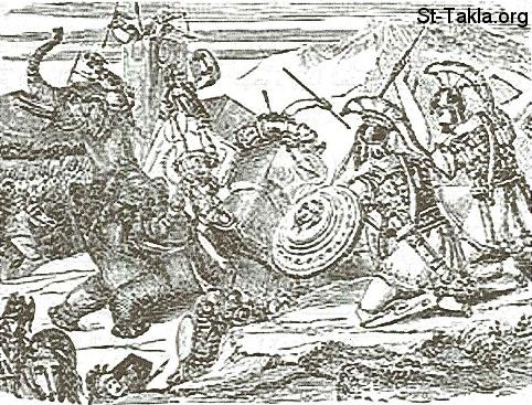 اله المسيحية مُضل والحروب فى العهد القديم