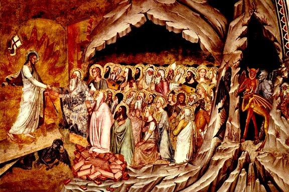 العدد الأول : ونزل إلى الجحيم من قبل الصليب