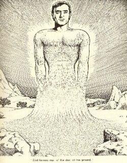 GENESIS 3:5—Is man made like God or does he become like God?