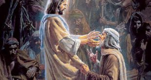 Did Jesus heal the blind man coming into or going out of Jericho