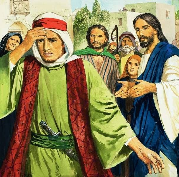 If Jesus was God, why did He seem to rebuke the rich young ruler for calling Him good