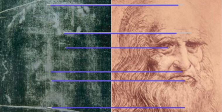 """كفن دافنش! هل رسم ليوناردو دافنشي الكفن المعروف بإسم """"كفن المسيح""""؟ تفنيد علمي"""