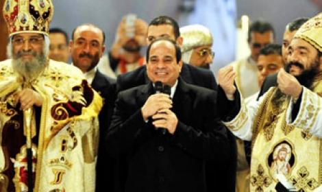 الكنيسة الأرثوذكسية القبطية تدعو الرئيس السيسي الى المشاركة في قداس عيد القيامة
