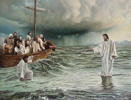 معجزة السير على الماء بعيون يهودية -2-