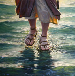 معجزة السير على الماء بعيون يهودية -1-