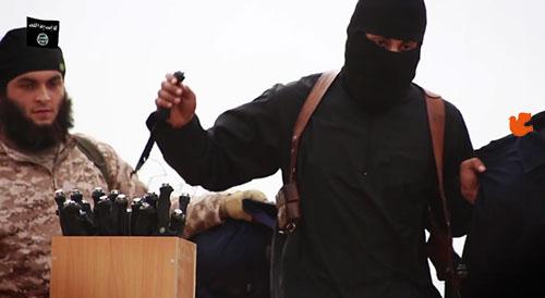 مقاتل داعشي يؤمن بيسوع المسيح