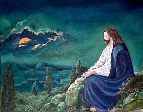 كيف لنا ان نعرف ما الذي كان يفعله يسوع عندما كان وحيداً؟