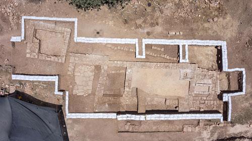 اكتشاف كنيسة عمرها 1500 سنة في أورشليم القرب من بلدة ابو غوش