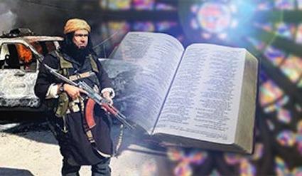 """قيادي داعشي يعتنق المسيحية ، ويؤكد """"سئمت القتل والدماء"""""""