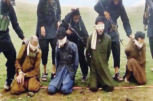أحدث طرق داعش لإعدام الضحايا - داعش يتفنن في الشرور!