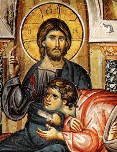 هل كان يوحنا نائم في حضن المسيح؟ وكان متكئاً في حضن يسوع واحد من تلاميذه