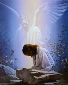السؤال 88 (الألوهية) أليس هو الله؟ فما حاجته لملاك يقويه؟ عماد حنا