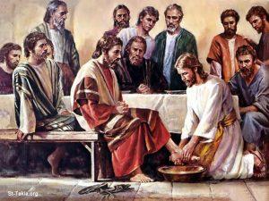 السؤال 36 (المسيح) هل غسيل الأرجل يحتاج إلى خلع الملابس؟ عماد حنا