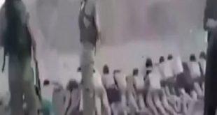 بالفيديو: بعد تجريدهم من ملابسهم .. داعش يعدم 200 طفل رميا بالرصاص