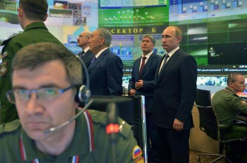 القوات الروسية تستعد لدخول سوريا برا وجوا وبحرا لمحو تنظيم داعش