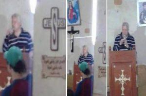 """حقيقة صور """"مرتضى منصور"""" فى الكنيسة بالتفاصيل"""