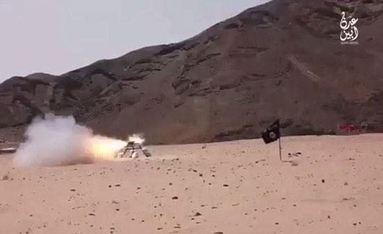 """""""داعش"""" تستخدم قلادة من المتفجرات والقذف بالصواريخ لإعدام الحوثيين باليمن"""