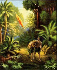 الأجيال من آدم الى ابراهيم ، ومن وقت الخلق الى الملكوت