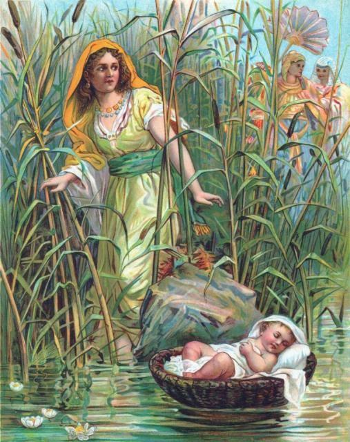المسيح في قصة ميلاد موسى