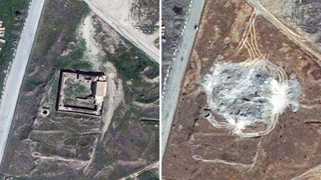 """بي بي سي: الدولة الإسلامية """"داعش"""" تدمير دير القديس إيليا النبي في العراق"""
