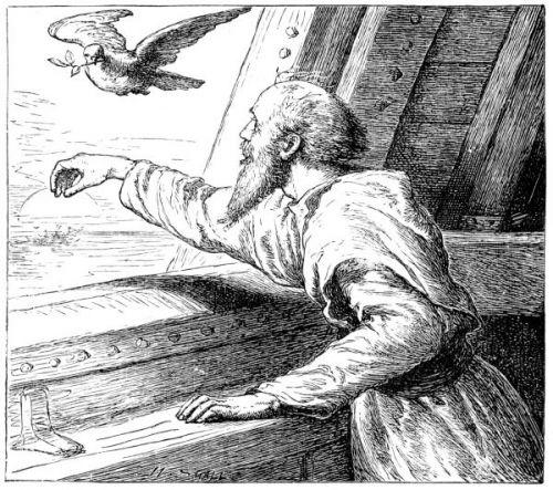 المسيح في قصة الطوفان