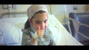 الطفلة ماكارينا ترى المسيح في القداس وتواجة مرض خطير - قصة حقيقية