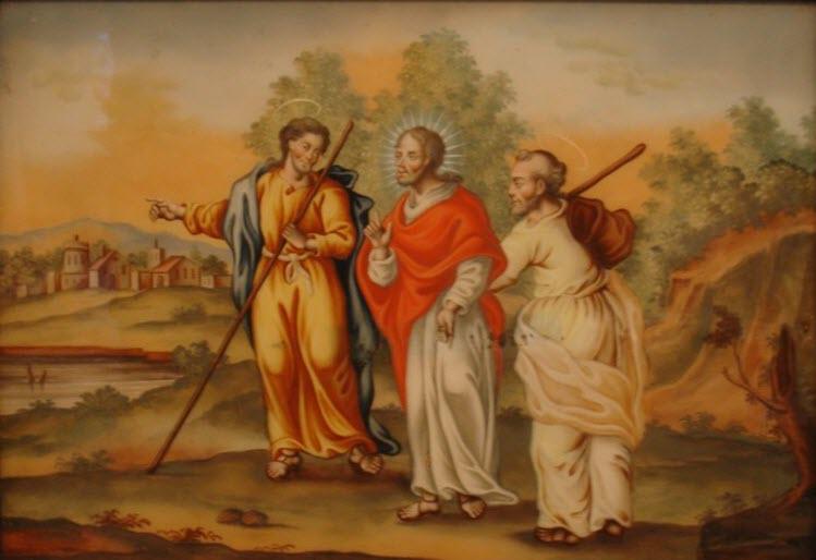 لماذا لم يستطع سمعان وكلوبا أن يتعرفا على الرب على طريق عمواس؟