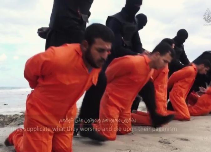 فيديو: آخر ما نطق به شهداء المسيح الأقباط في ليبيا على أيدي داعش