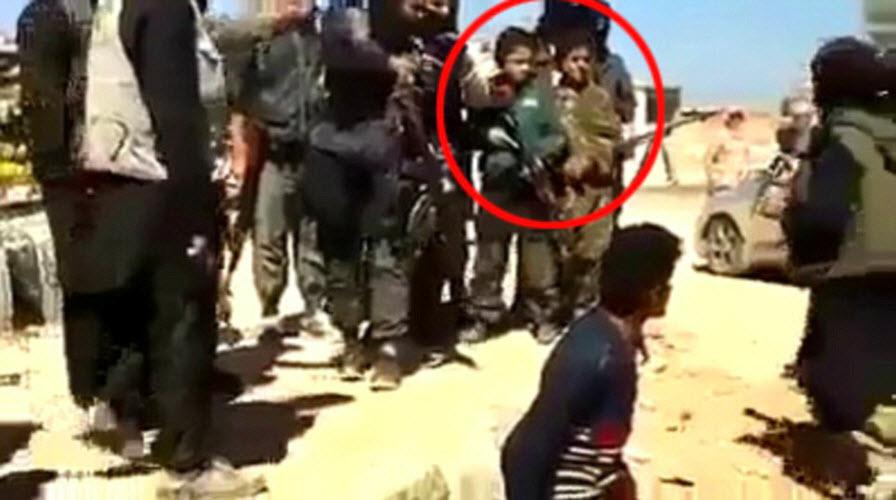 داعش تذبح 4 أطفال مسيحيين رفضوا ترك المسيحية وإعتناق دينهم