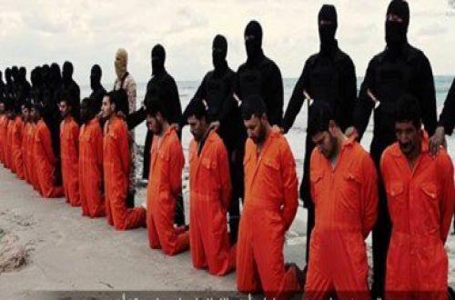 مطرانية سمالوط تحيى الذكرى الأولى لشهداء المسيح فى ليبيا على أيدي داعش 16 فبراير