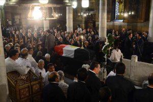 صلاة الجناز كاملة على الراحل الدكتور بطرس بطرس غالي بالكنيسة البطرسية