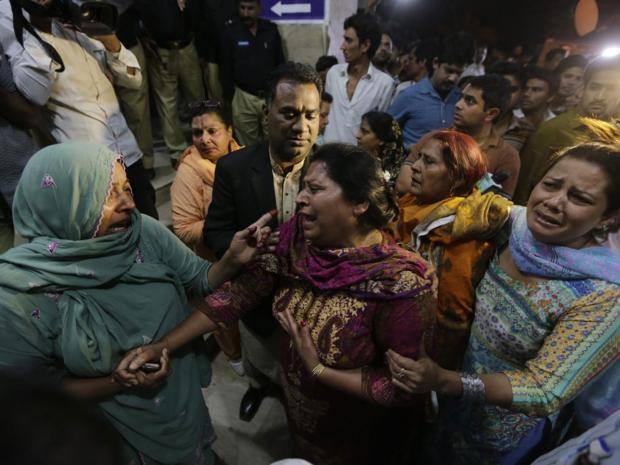 فيديو من موقع تفجيرات عيد القيامة في باكستان اليوم هناك