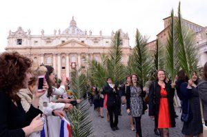 Celebrazione della Domenica delle Palme in Piazza S.Pietro con Papa Francesco - GMG 13 Aprile 2014