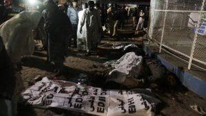 عاجل: إنفجار يستهدف المحتفلين بعيد القيامة اليوم والحصيلة الأولية 60 قتيلاً BBC