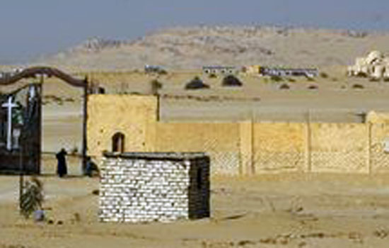 اليوم.. بدء تنفيذ اتفاق دير وادي الريان وأيوب يبدأ في بناء السور