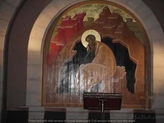 بالصور والفيديو كنيسة صياح الديك التي أنكر فيها بطرس الرب يسوع المسيح
