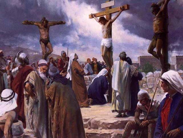 الصليب والقيامة في Q