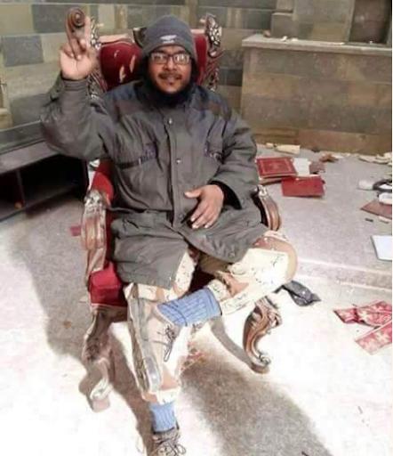 داعشي يدخل كنيسة تلكيف وهذا ما نشره على حسابه الخاص…سامحهم يا أبتاه لأنهم لا يدرون ماذا يفعلون