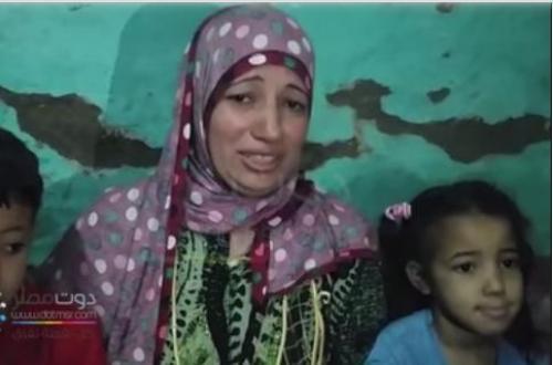 فيديو | الزوجة المسلمة المتهمة بعلاقة مع قبطى بالمنيا باكية وتنفي علاقتها بالشاب المسيحي